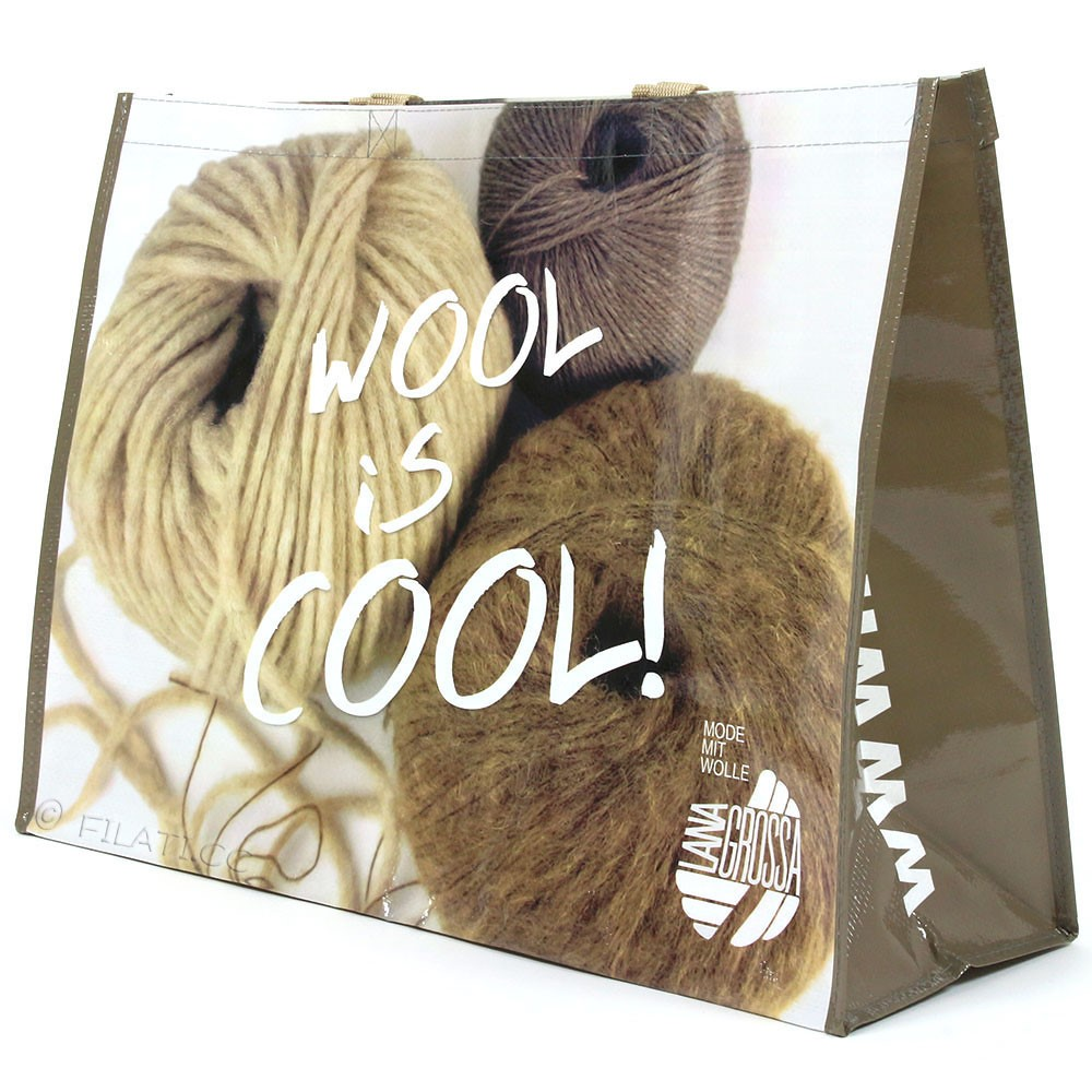 Shopper WOOL IS COOL - 1 | 01-beige/bruin/natuur