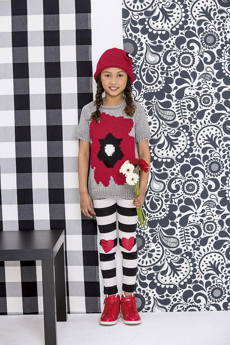 lana grossa muts met bloem cotofine filati kids babys no 3 model 58 filati breimodellen. Black Bedroom Furniture Sets. Home Design Ideas