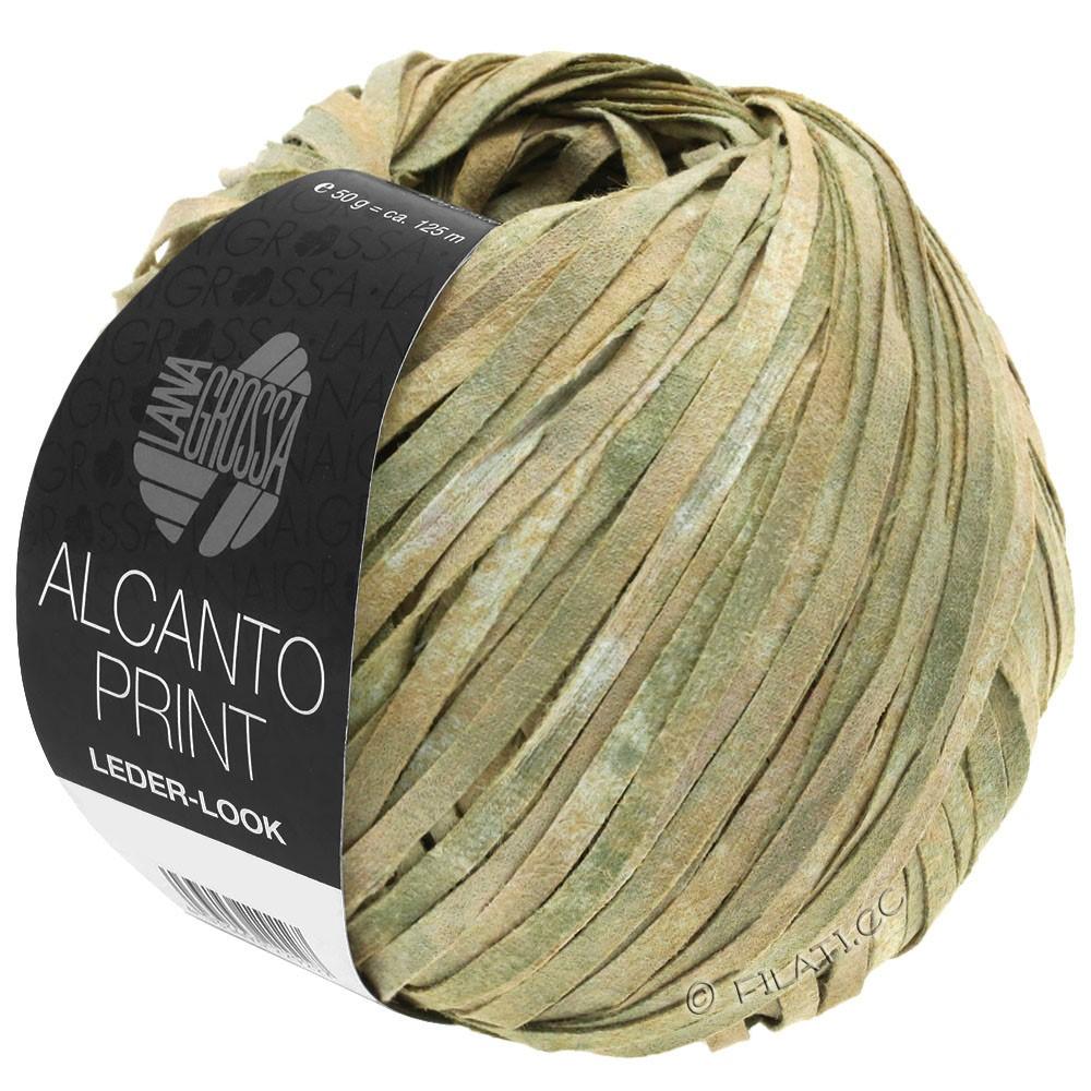 Lana Grossa ALCANTO Print | 101-natuur/beige/grijs groen
