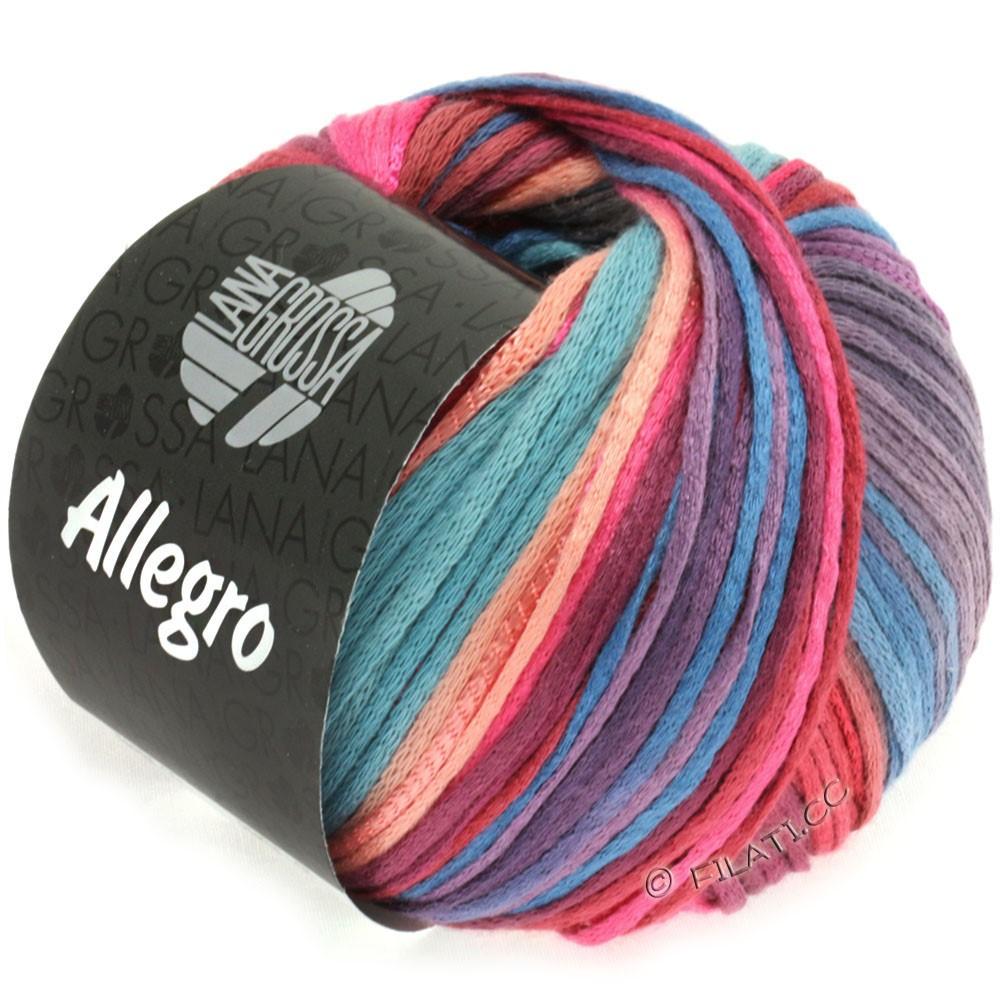 Lana Grossa ALLEGRO | 012-felroze/zalm/violet/grijs blauw/roodbruin