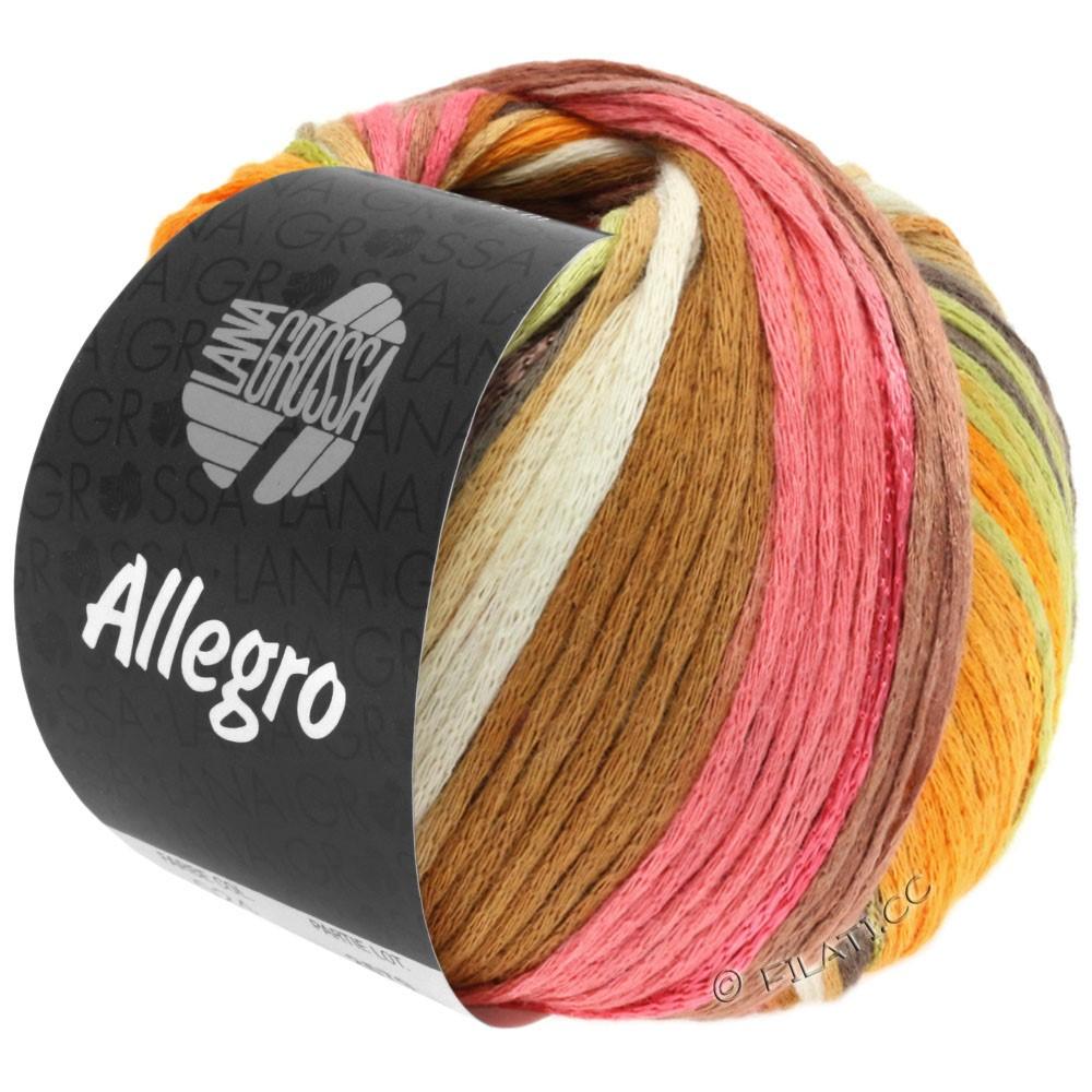 Lana Grossa ALLEGRO | 026-wit/barnsteen/rose/rozenhout/natuur/bleekgroen