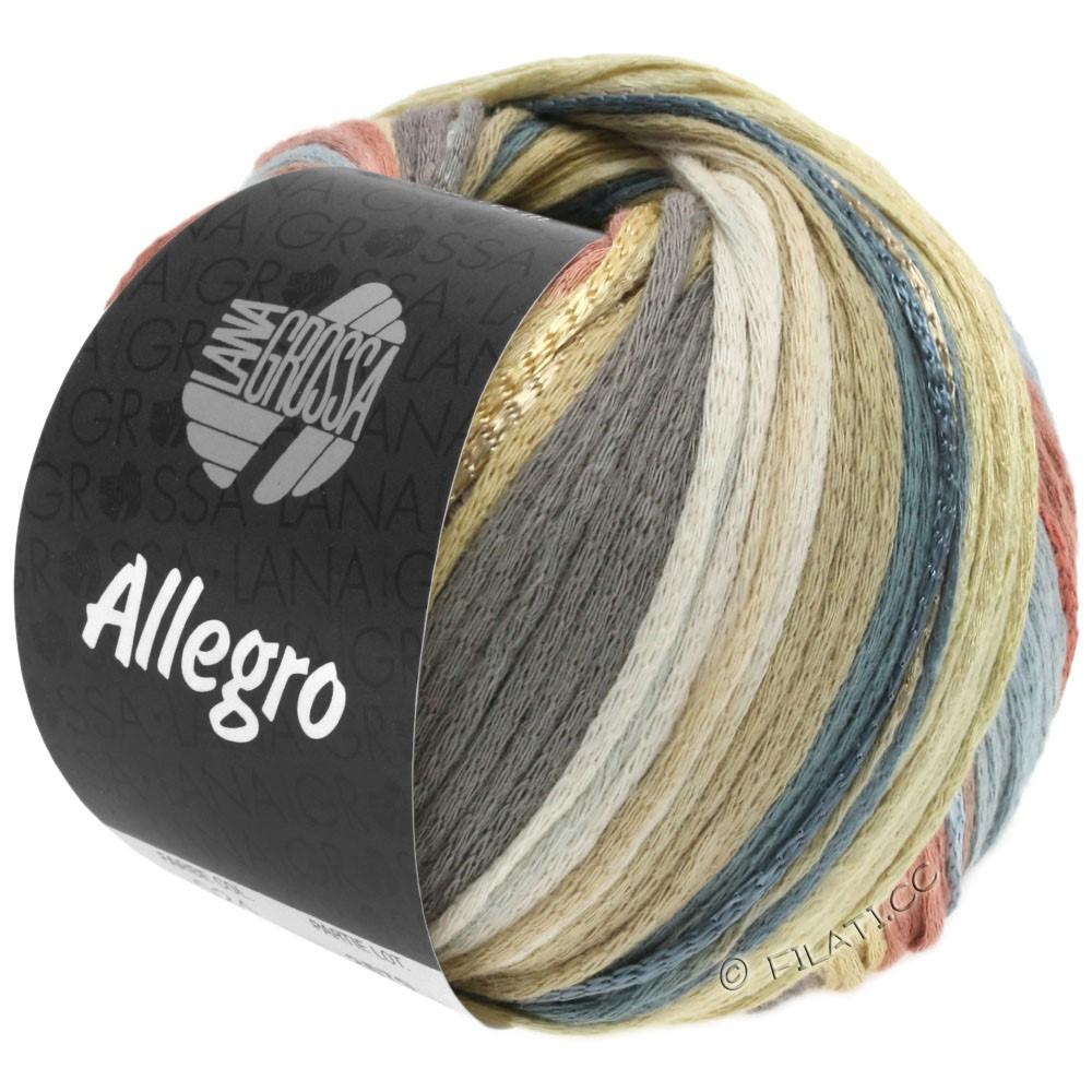 Lana Grossa ALLEGRO | 029-vanille/natuur/donker grijs/rozenhout/beige