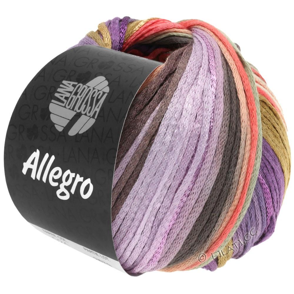 Lana Grossa ALLEGRO | 030-violet/zalm/beige/natuur/sering/taupe/licht grijs
