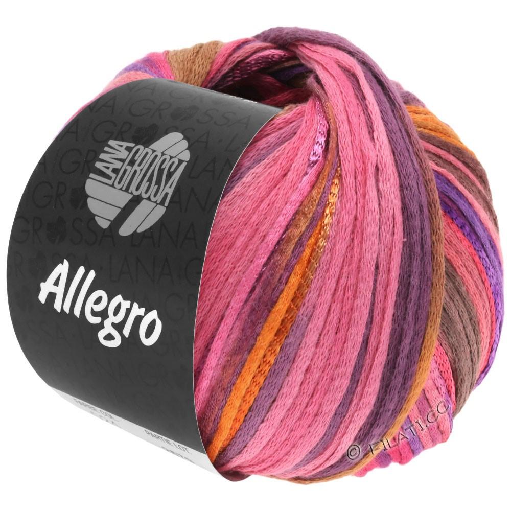 Lana Grossa ALLEGRO | 031-felroze/oranje/violet/kaneel