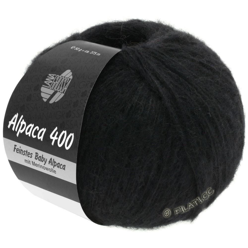 Lana Grossa ALPACA 400 | 12-zwart