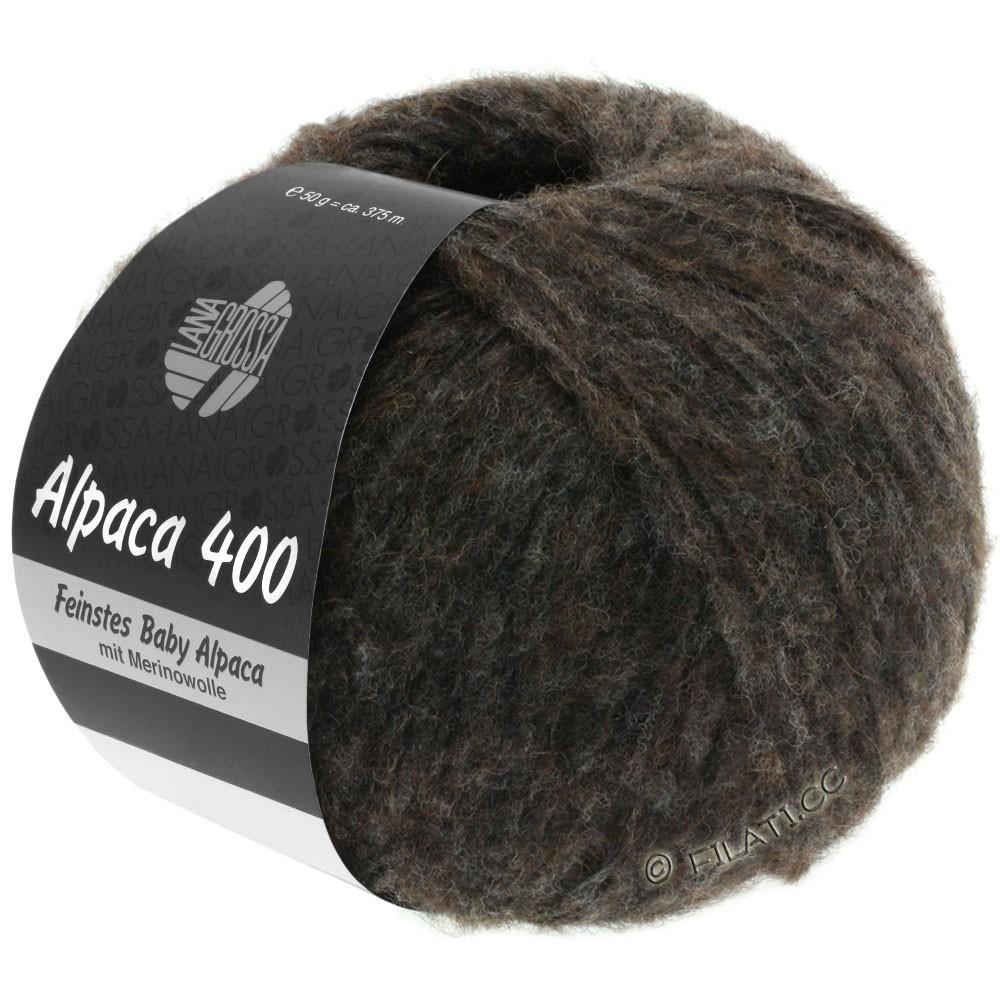 Lana Grossa ALPACA 400 | 13-zwartbruin