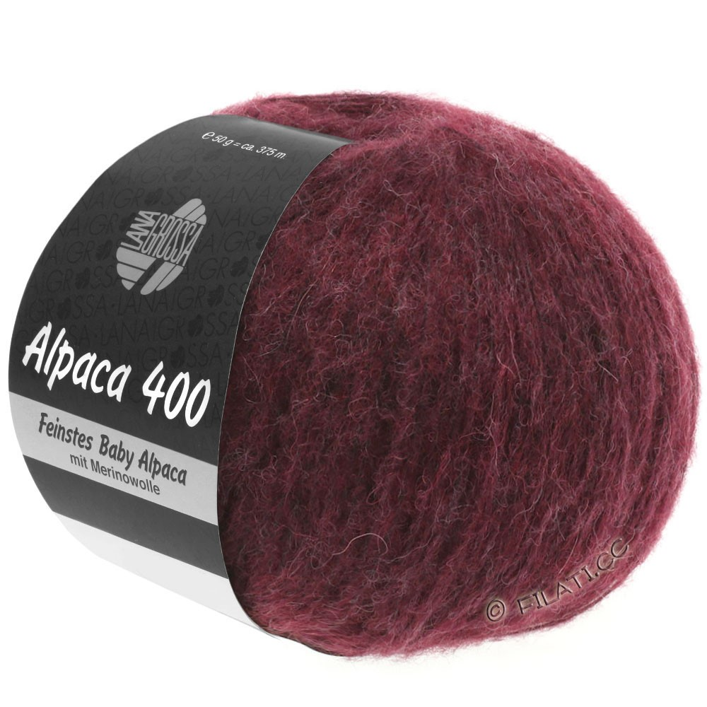 Lana Grossa ALPACA 400 | 16-zwartrood