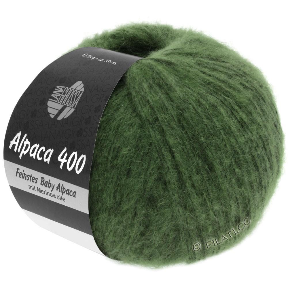 Lana Grossa ALPACA 400 | 19-donker groen