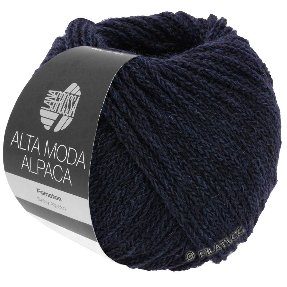 Lana Grossa ALTA MODA ALPACA | 05-nacht blauw
