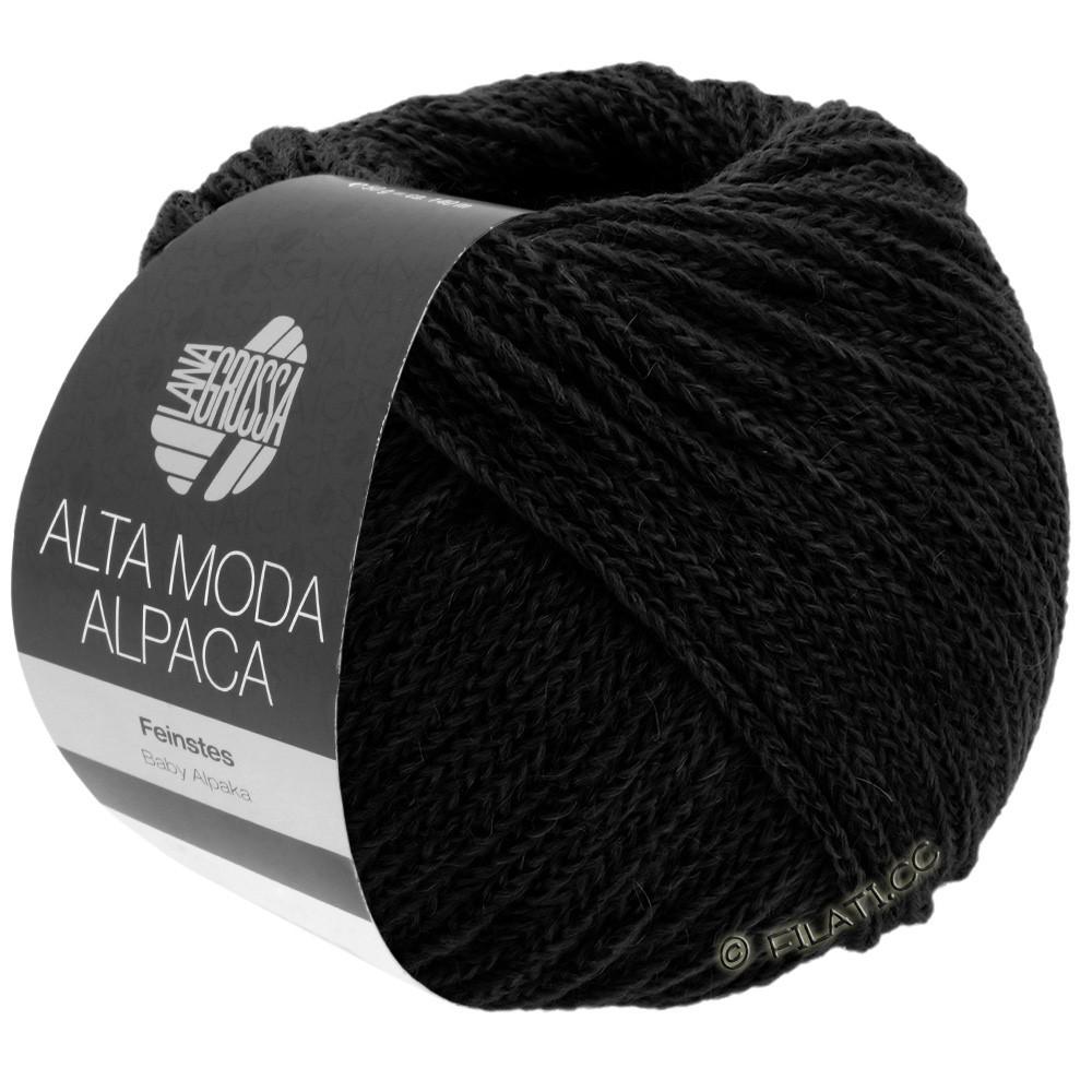 Lana Grossa ALTA MODA ALPACA | 06-zwart