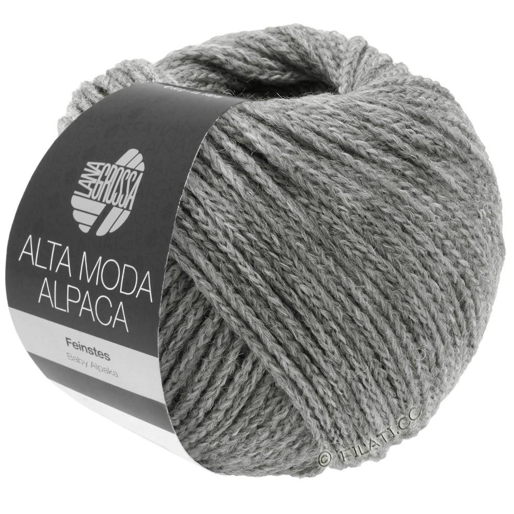 Lana Grossa ALTA MODA ALPACA | 12-licht grijs gemêleerd