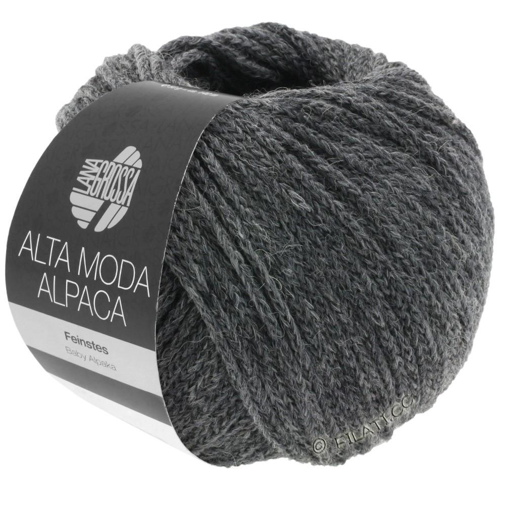 Lana Grossa ALTA MODA ALPACA | 22-donker grijs gemêleerd