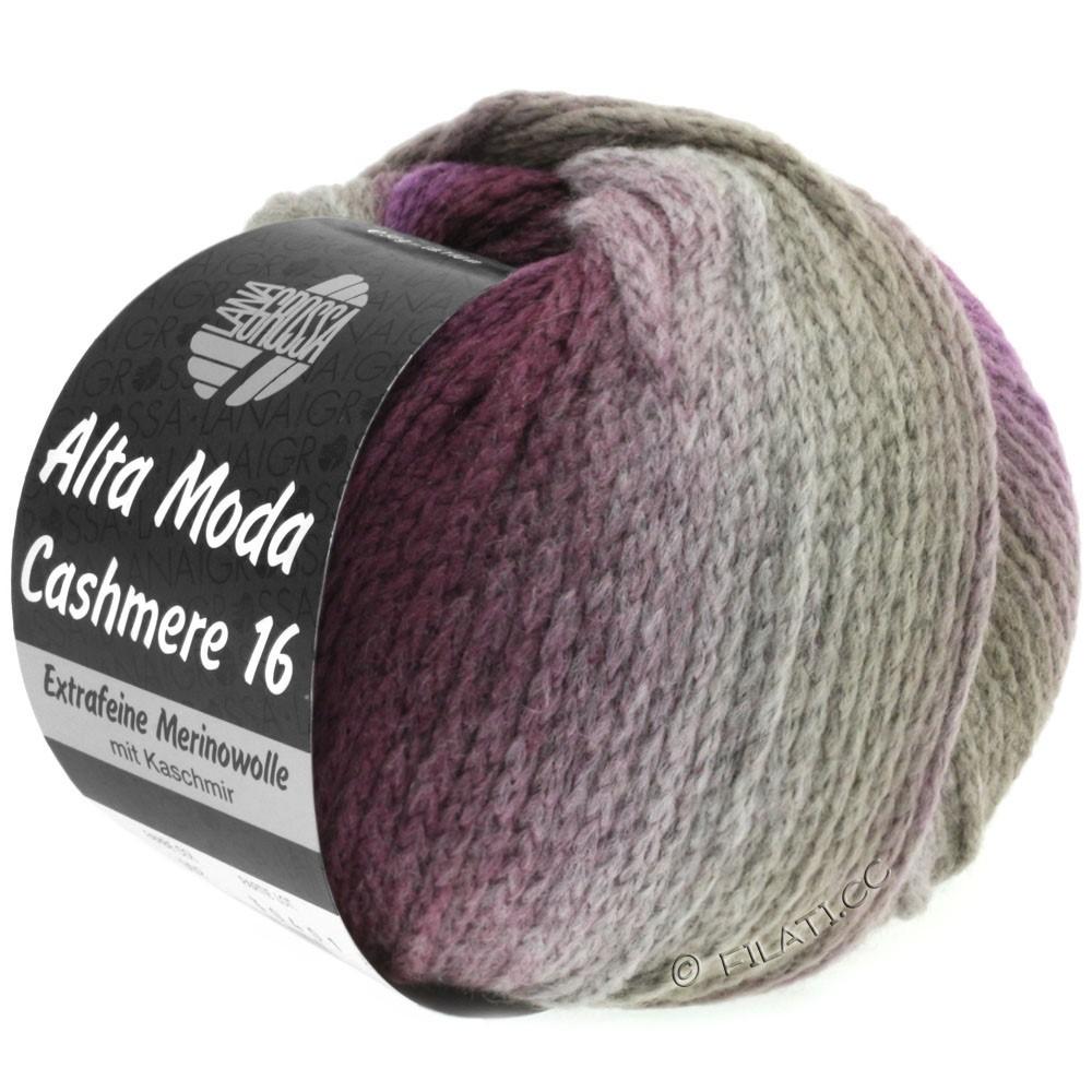 Lana Grossa ALTA MODA CASHMERE 16 Degradé | 102-taupe/braam/violet