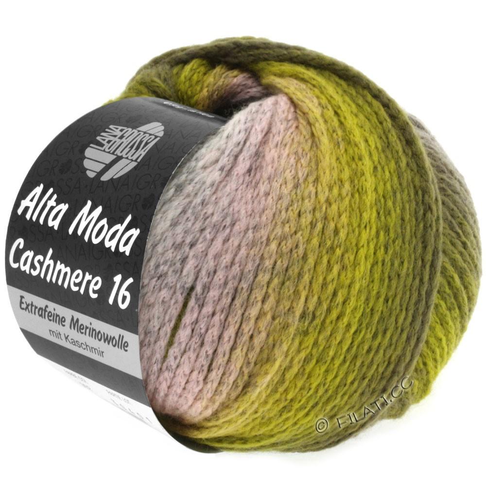 Lana Grossa ALTA MODA CASHMERE 16 Degradé | 103-rose/licht grijs/olijf/kaki