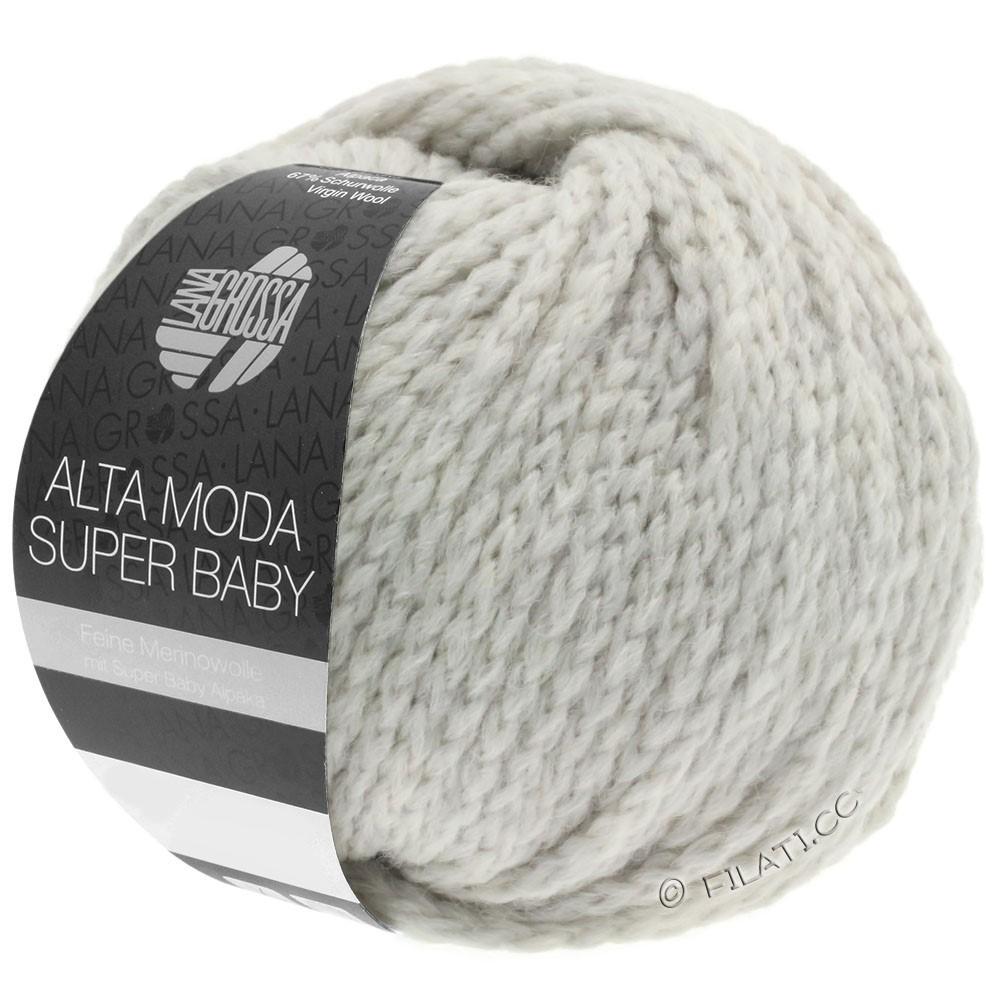 Lana Grossa ALTA MODA SUPER BABY  Uni | 40-zilvergrijs