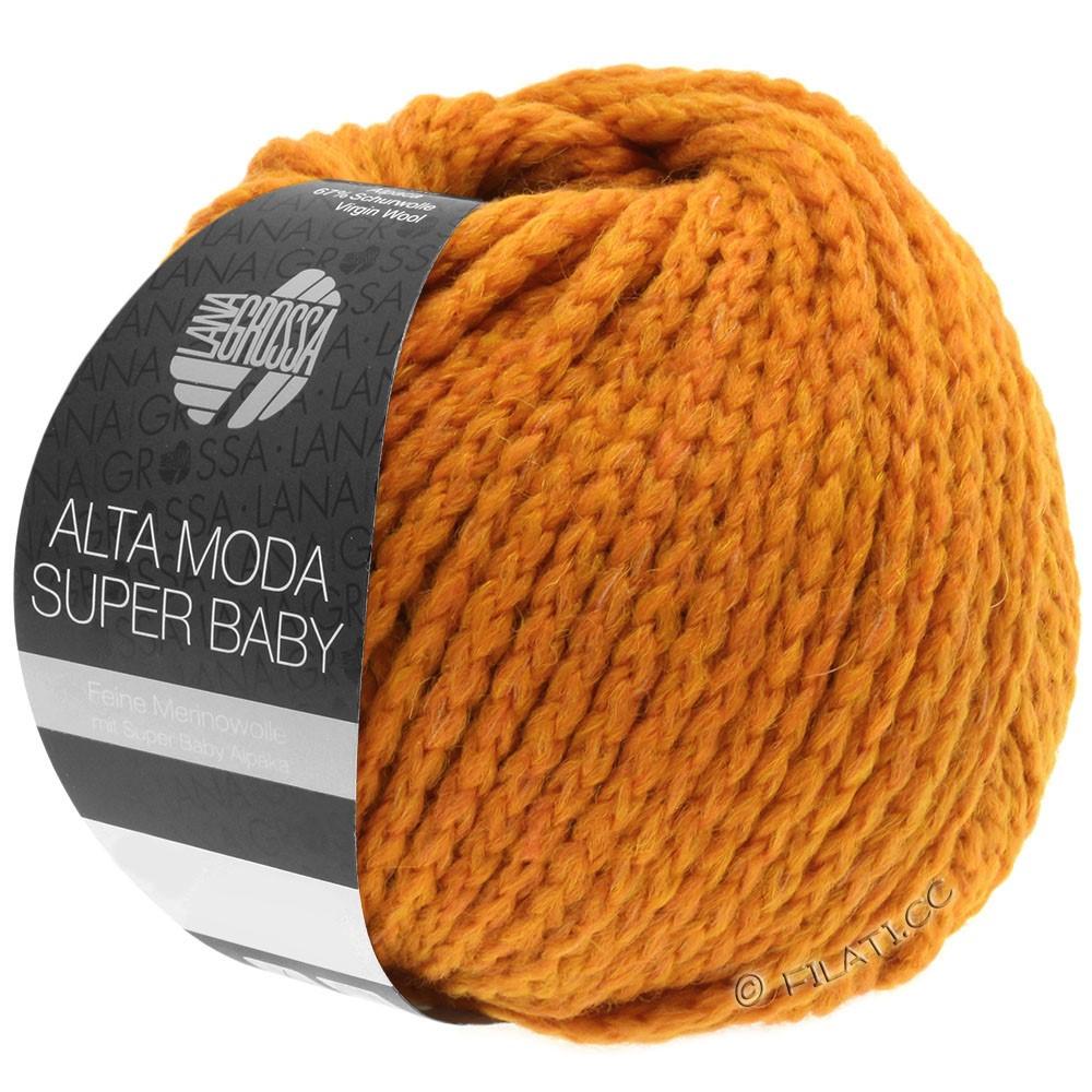 Lana Grossa ALTA MODA SUPER BABY  Uni | 42-oranje