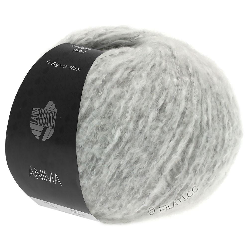 Lana Grossa ANIMA | 02-zilvergrijs gemêleerd