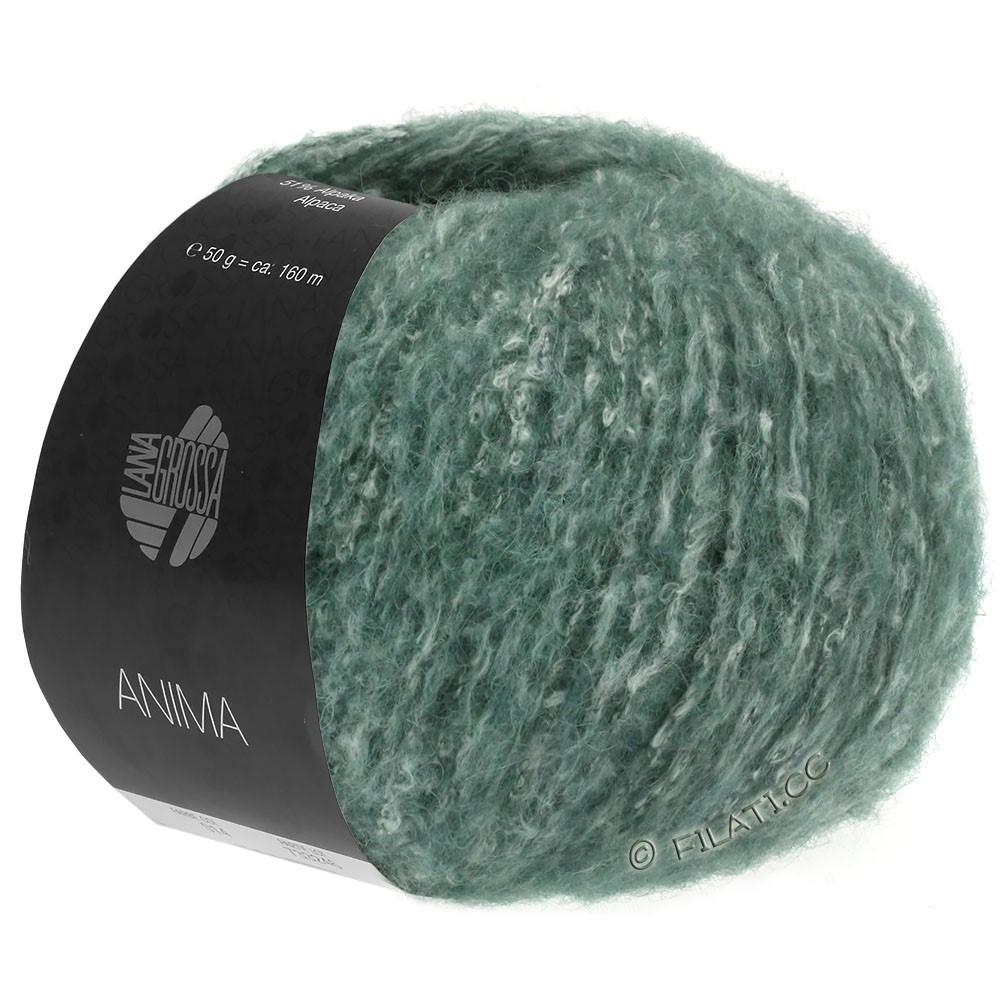 Lana Grossa ANIMA | 03-donker groen gemêleerd
