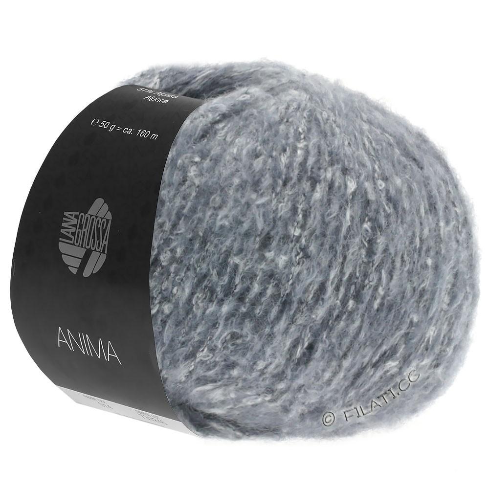 Lana Grossa ANIMA | 04-grijs blauw gemêleerd