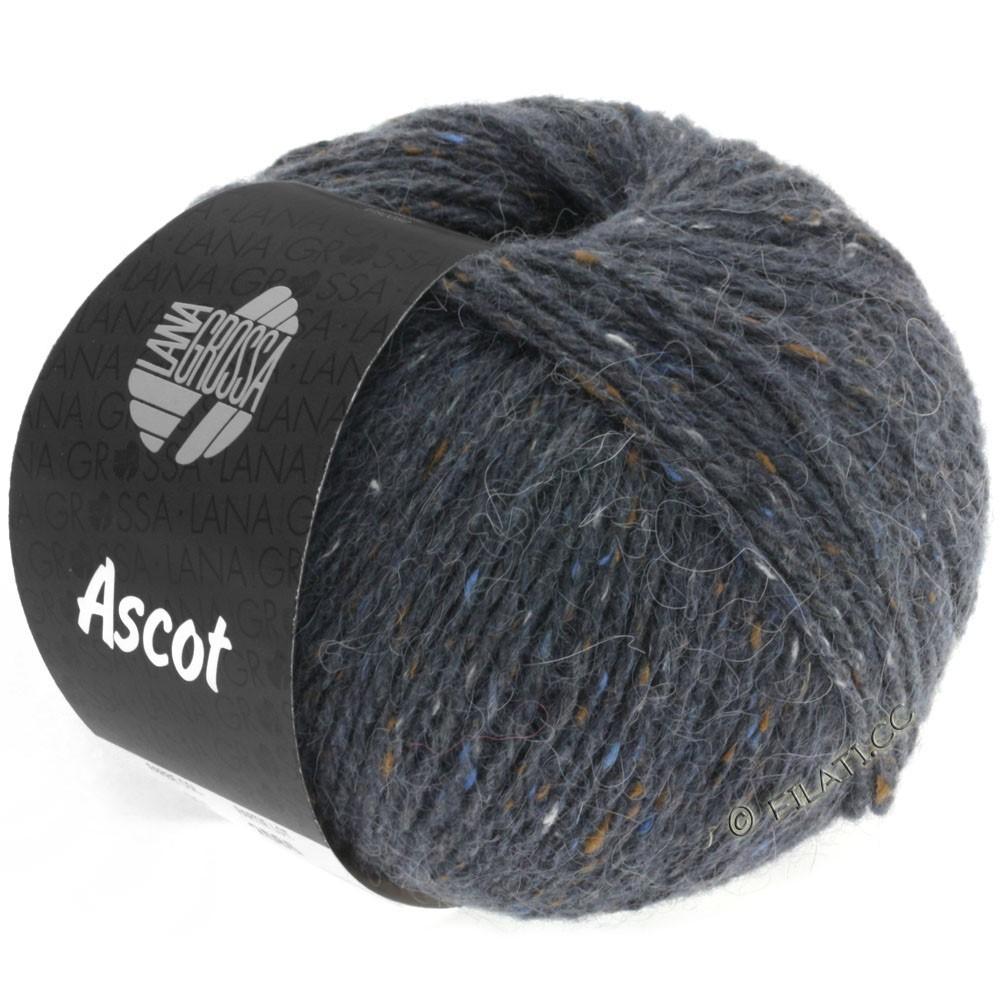 Lana Grossa ASCOT   07-donker grijs gemêleerd
