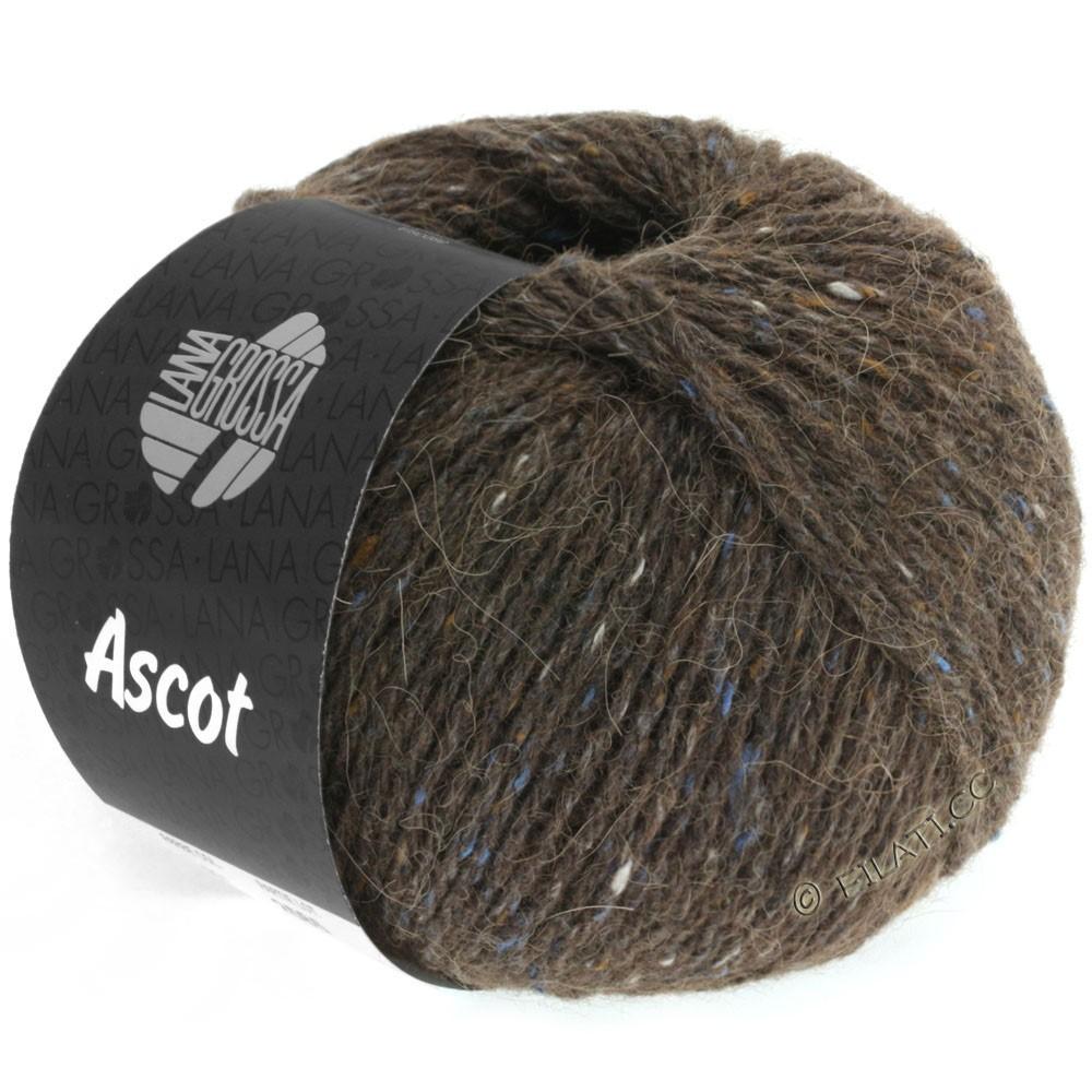 Lana Grossa ASCOT   09-donker bruin gemêleerd