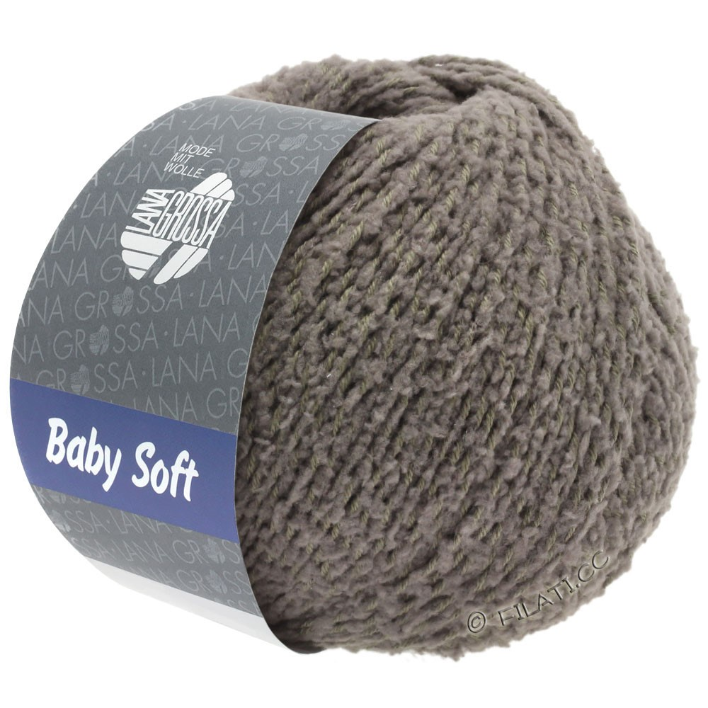 Lana Grossa BABY SOFT | 14-grijs bruin