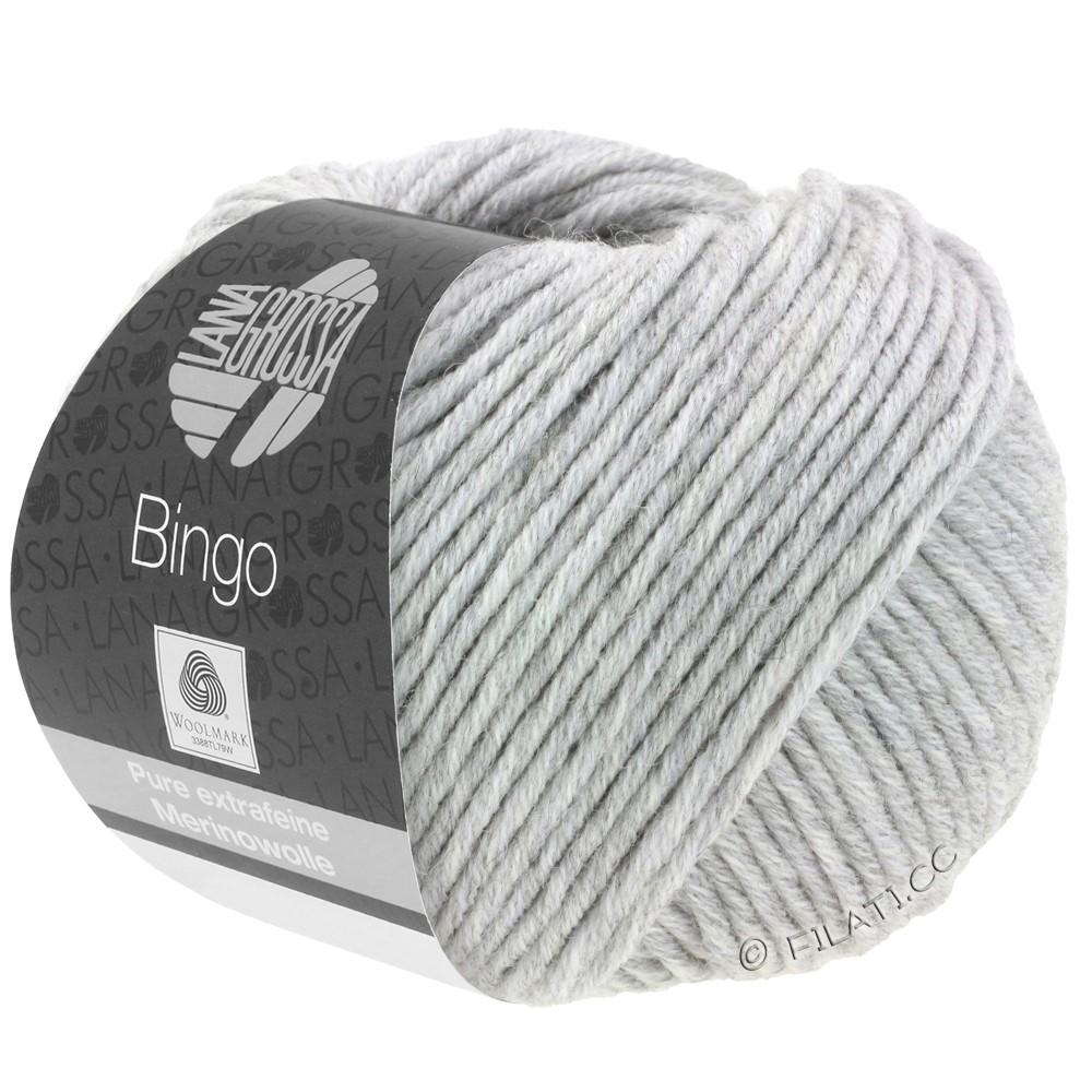 Lana Grossa BINGO  Uni/Melange | 001-licht grijs gemêleerd