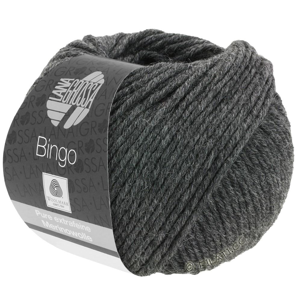 Lana Grossa BINGO  Uni/Melange | 004-antraciet