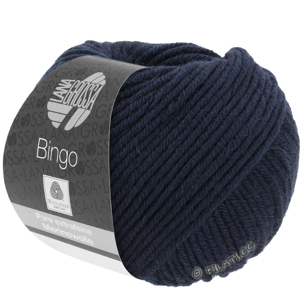 Lana Grossa BINGO  Uni/Melange | 008-nacht blauw