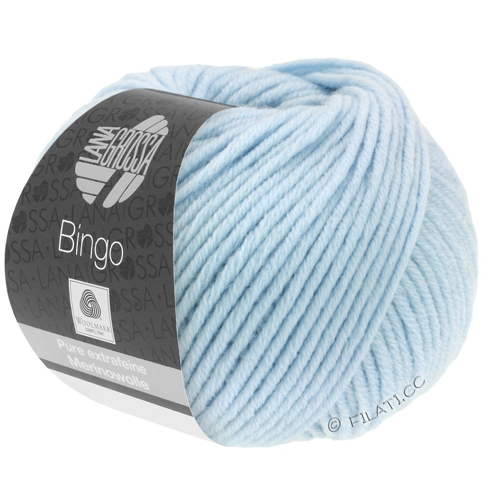 Lana Grossa BINGO  Uni/Melange | 056-ijsblauw