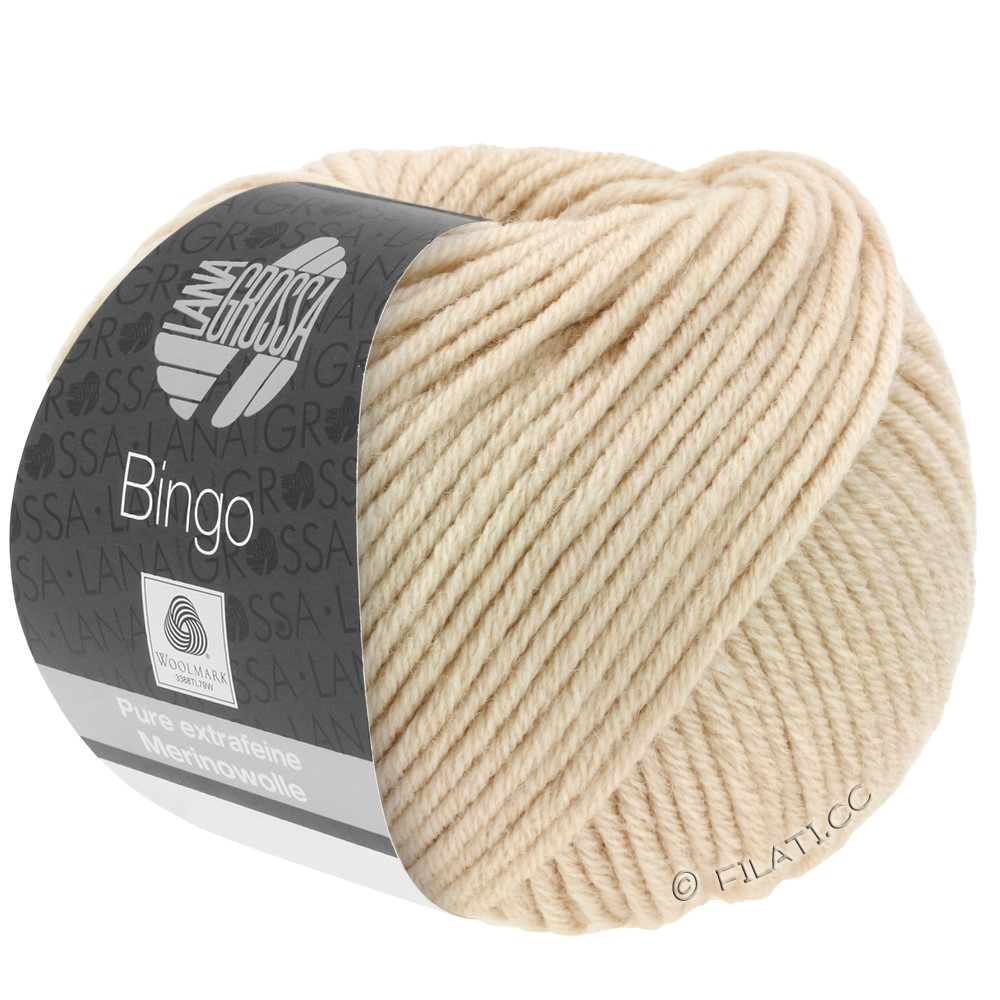 Lana Grossa BINGO  Uni/Melange | 077-beige