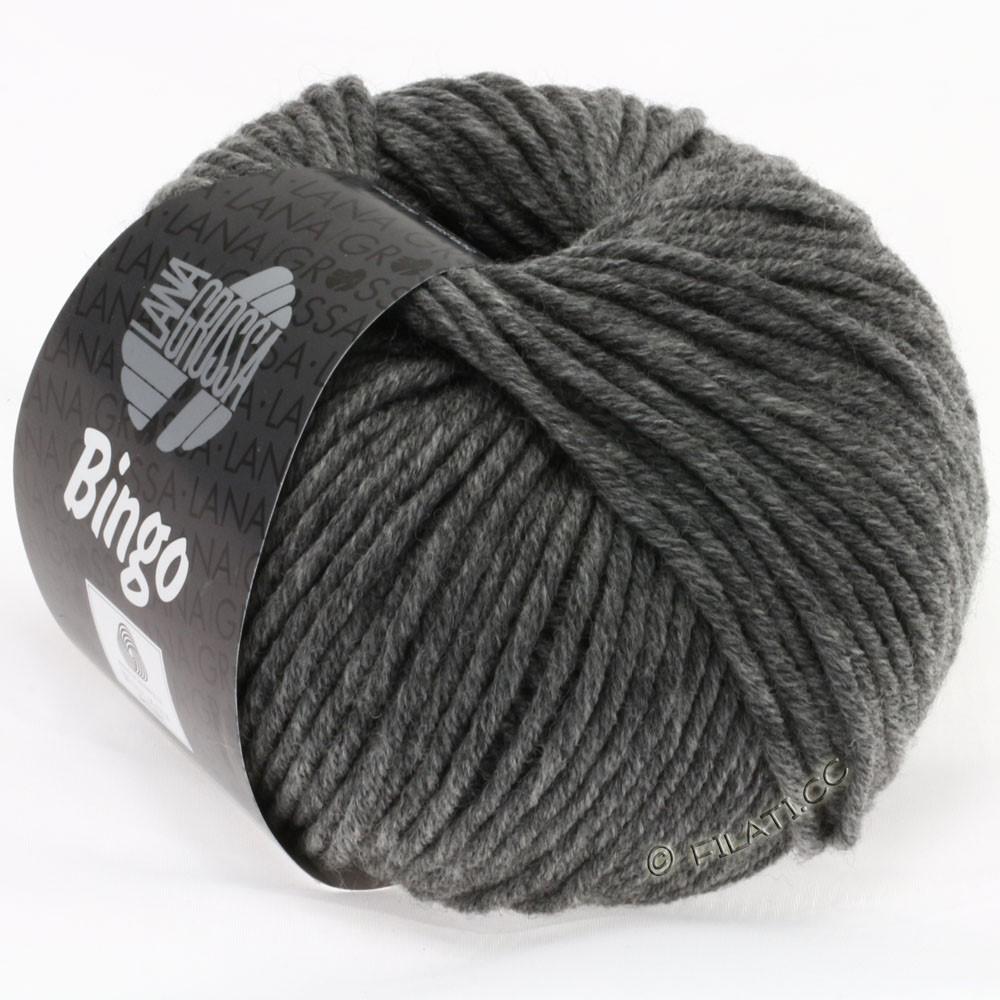 Lana Grossa BINGO  Uni/Melange | 120-donker grijs gemêleerd