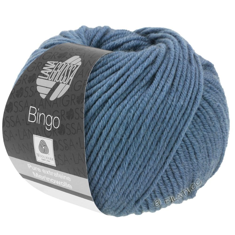 Lana Grossa BINGO  Uni/Melange | 134-duifblauw