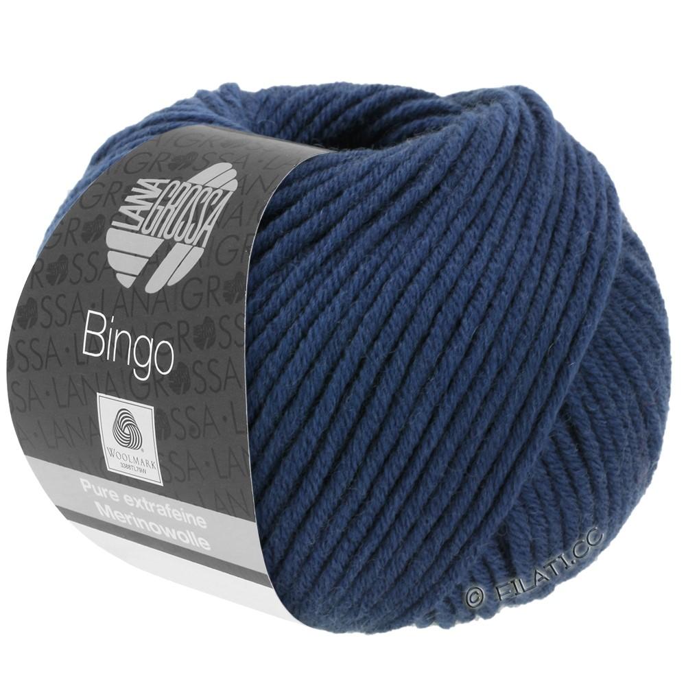 Lana Grossa BINGO  Uni/Melange | 147-donker blauw