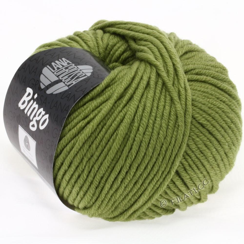 Lana Grossa BINGO  Uni/Melange | 148-olijf groen