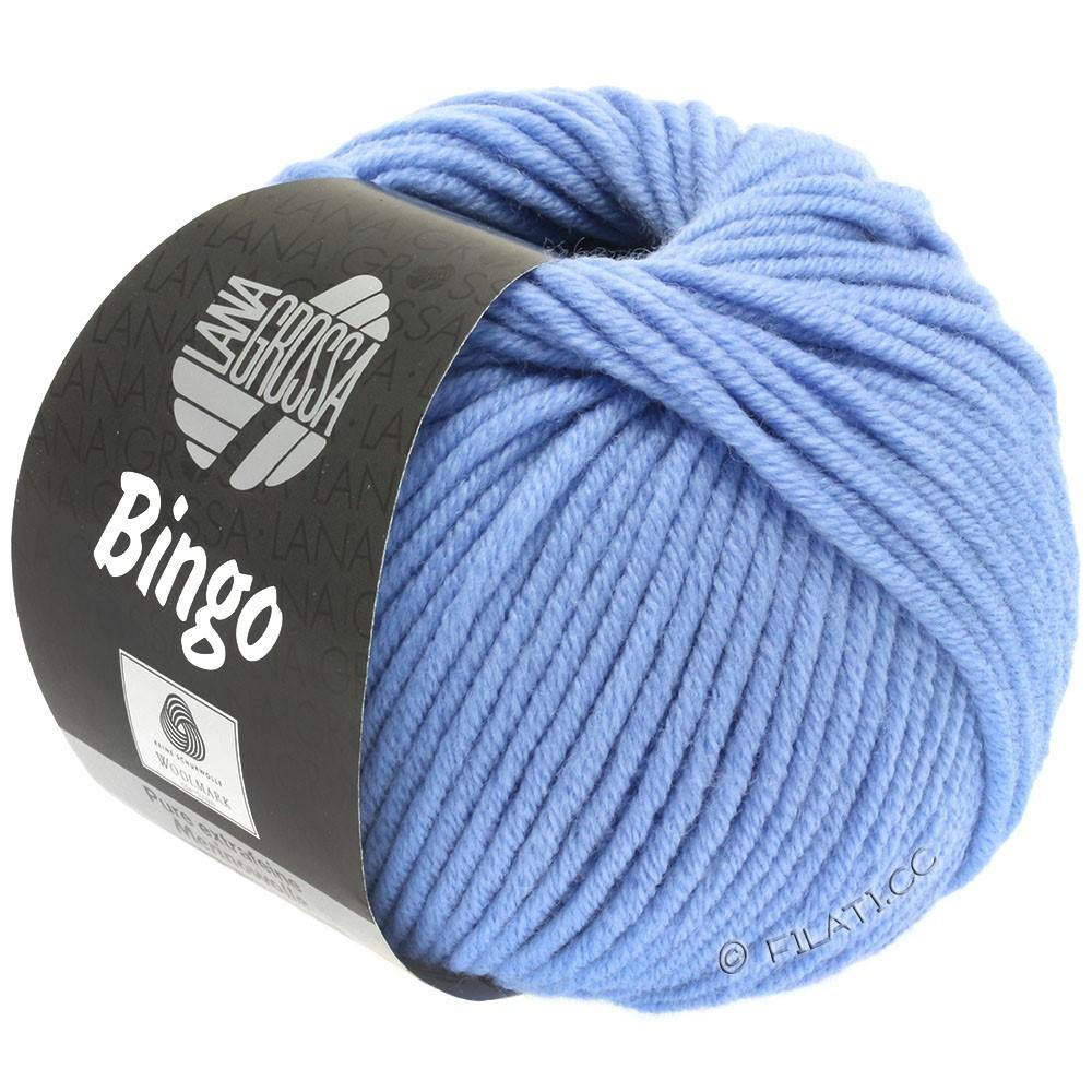 Lana Grossa BINGO  Uni/Melange | 178-shiner blauw