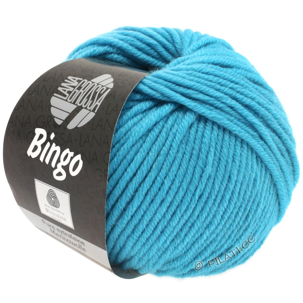 Lana Grossa BINGO  Uni/Melange | 182-hemelsblauw