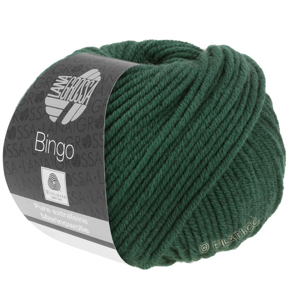 Lana Grossa BINGO  Uni/Melange | 189-donker groen