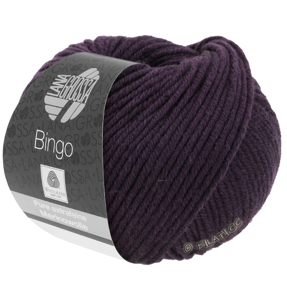 Lana Grossa BINGO  Uni/Melange | 193-aubergine