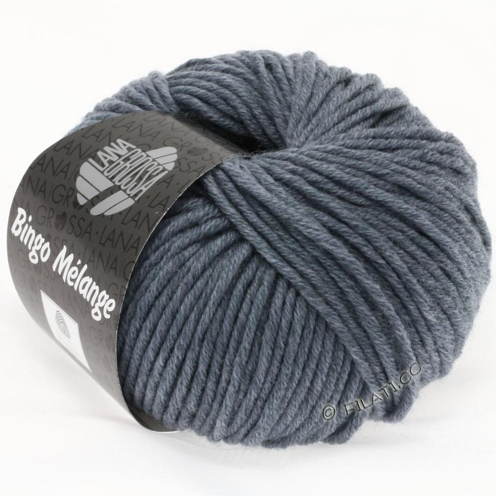 Lana Grossa BINGO  Uni/Melange | 204-grijs blauw gemêleerd