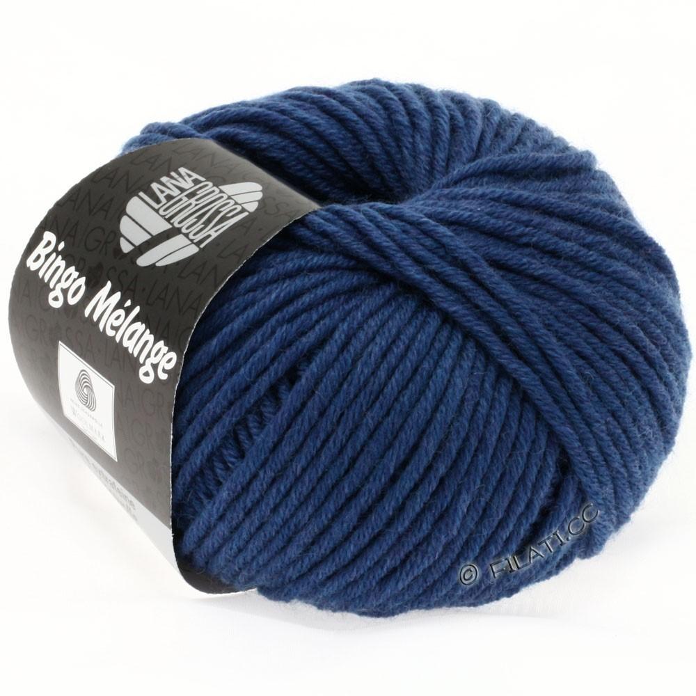 Lana Grossa BINGO  Uni/Melange | 231-blauw gemêleerd