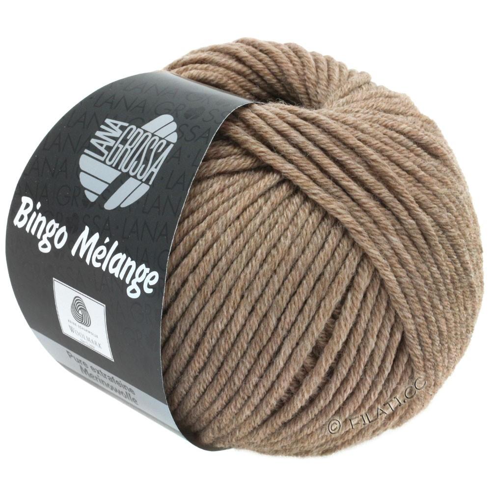 Lana Grossa BINGO  Uni/Melange | 239-bruin gemêleerd