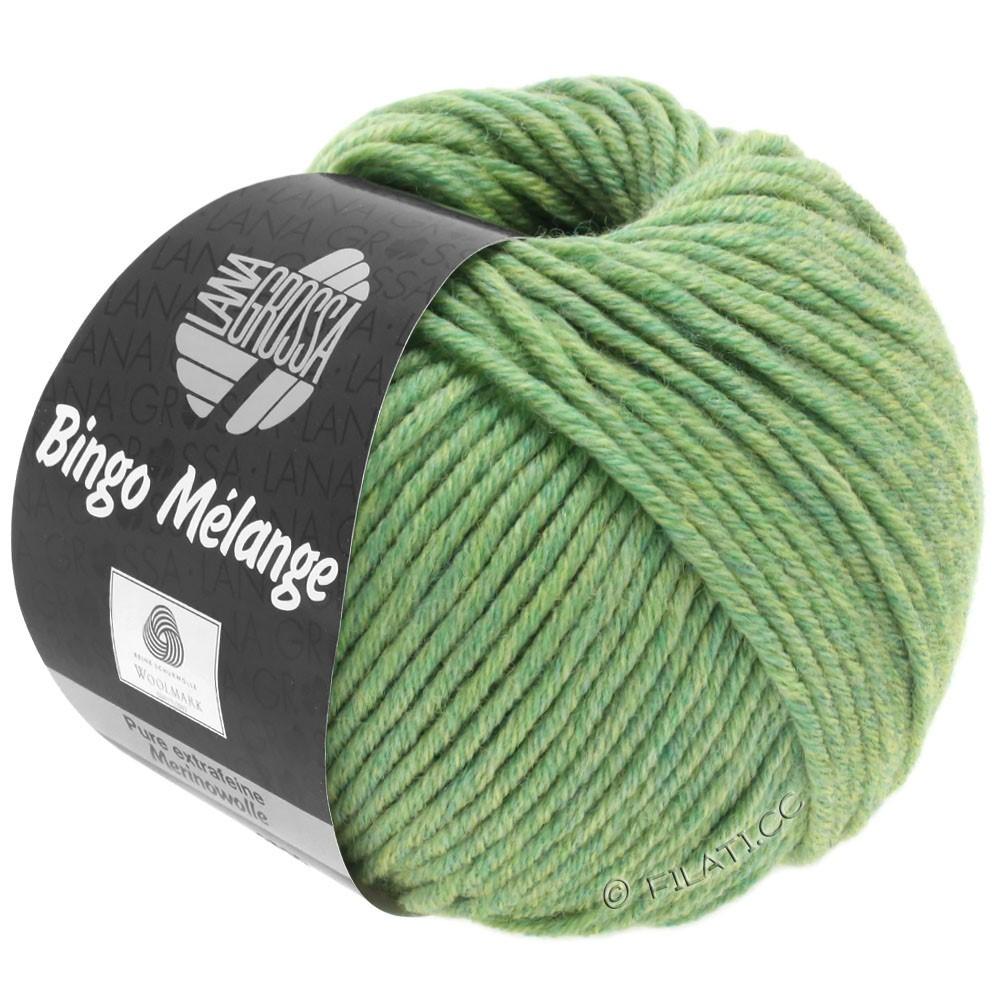 Lana Grossa BINGO  Uni/Melange | 243-licht groen gemêleerd