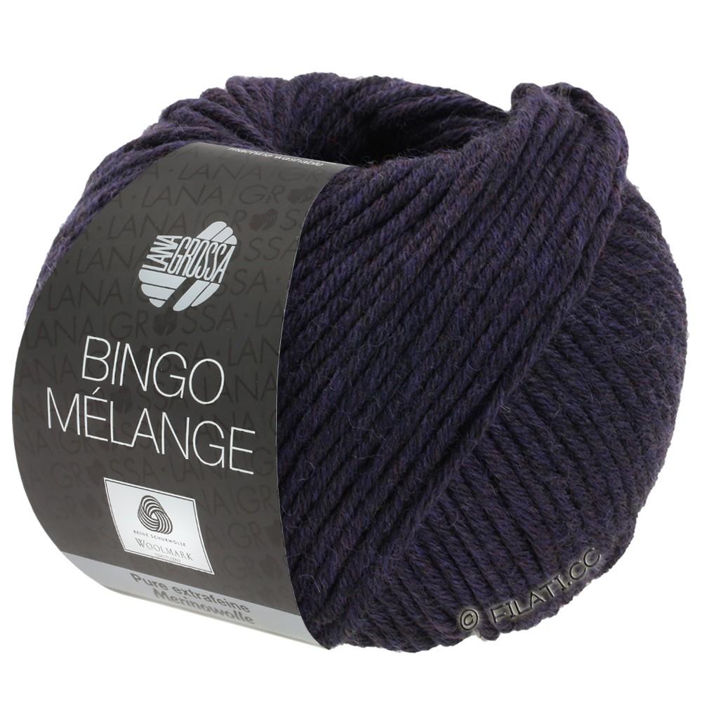 Lana Grossa BINGO  Uni/Melange | 246-aubergine gemêleerd