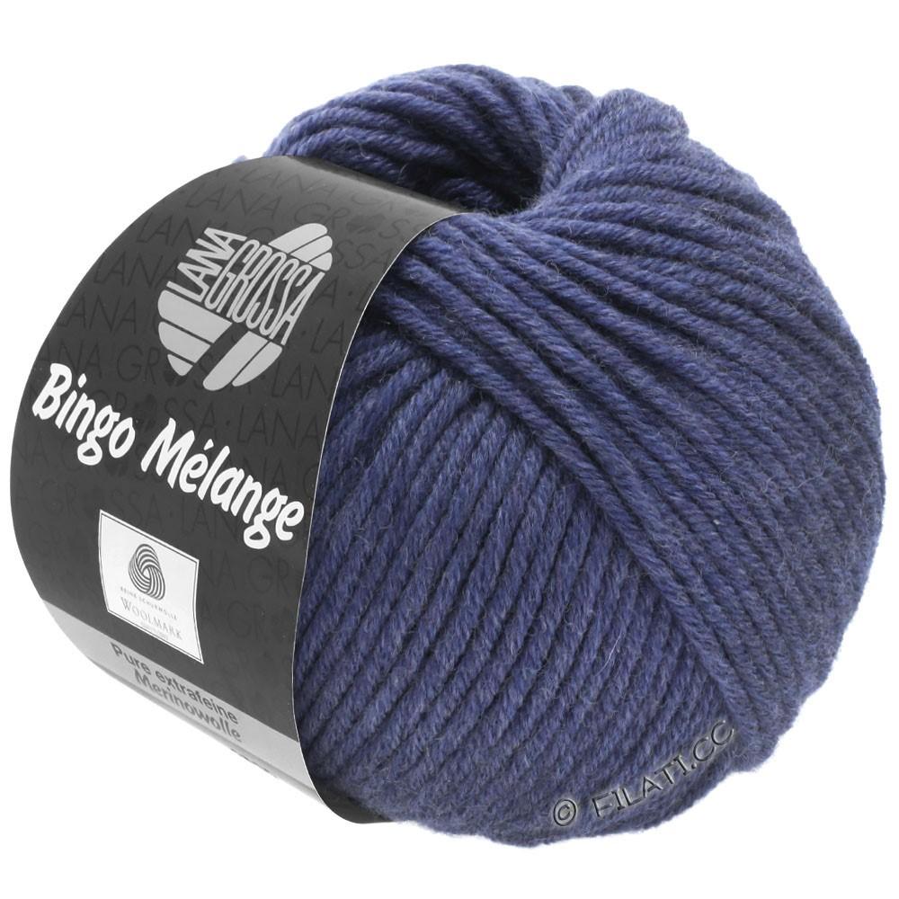 Lana Grossa BINGO  Uni/Melange | 251-nacht blauw gemêleerd