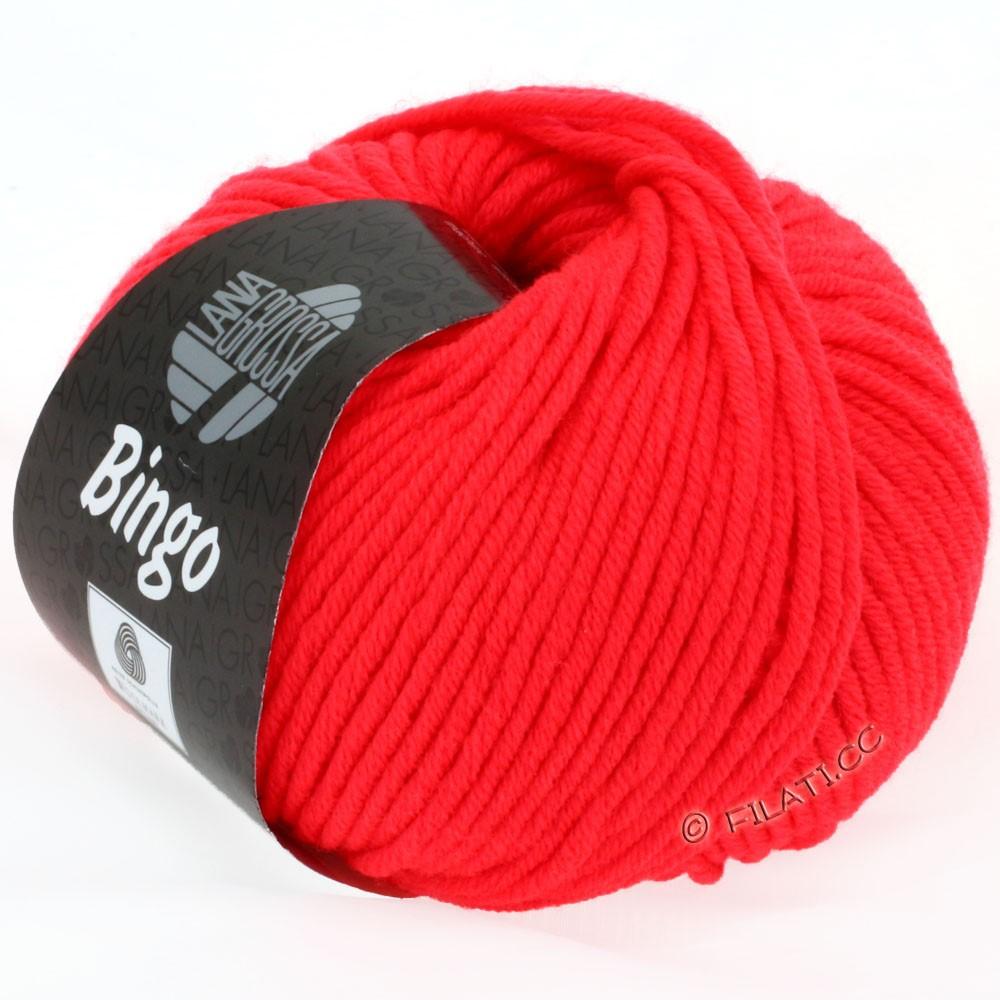 Lana Grossa BINGO  Uni/Melange | 707-neon rood