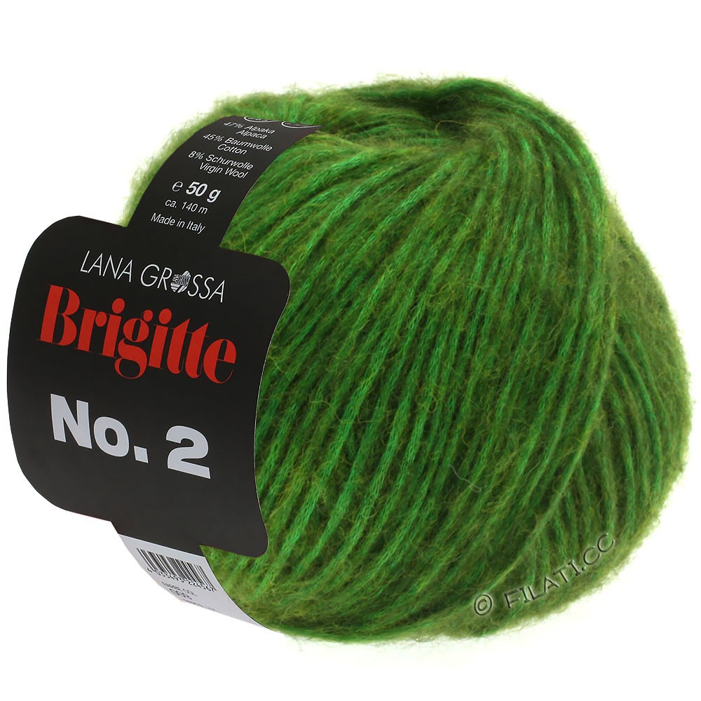 Lana Grossa BRIGITTE NO. 2 | 01-groen