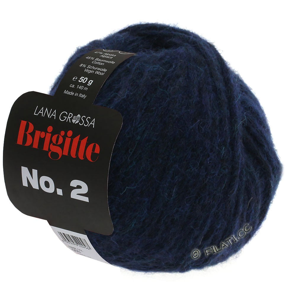 Lana Grossa BRIGITTE NO. 2   05-nacht blauw