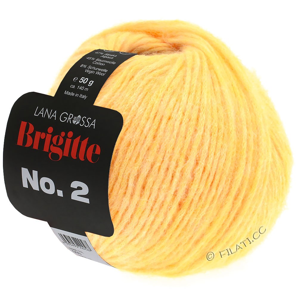 Lana Grossa BRIGITTE NO. 2   08-geel
