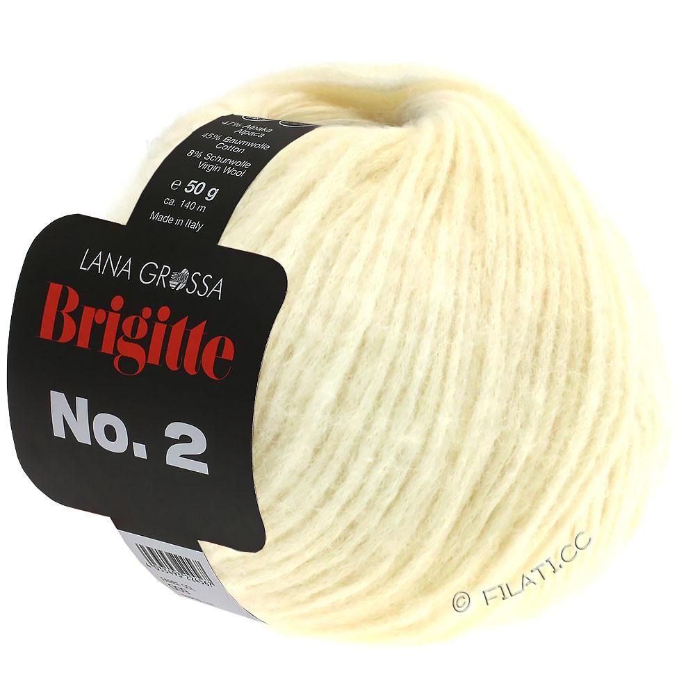 Lana Grossa BRIGITTE NO. 2   16-ruwe witte